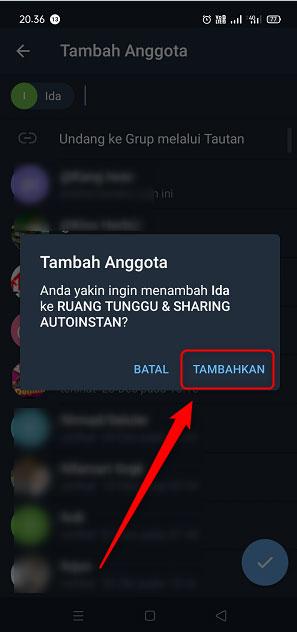 Cara Menambahkan Anggota Ke Grup Telegram 5