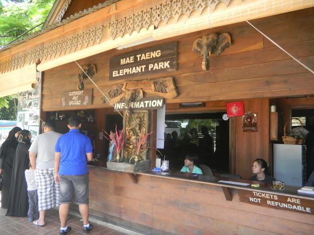 Mae Taeng Elephant Park - Parque de Elefantes na Tailândia