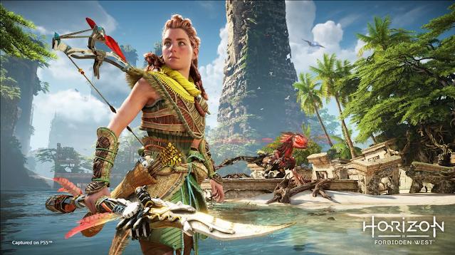 PlayStation reveals 15  minutes of Horizon: Forbidden West Gameplay | TechNeg