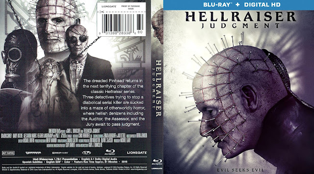 Hellraiser: Judgment Bluray Cover
