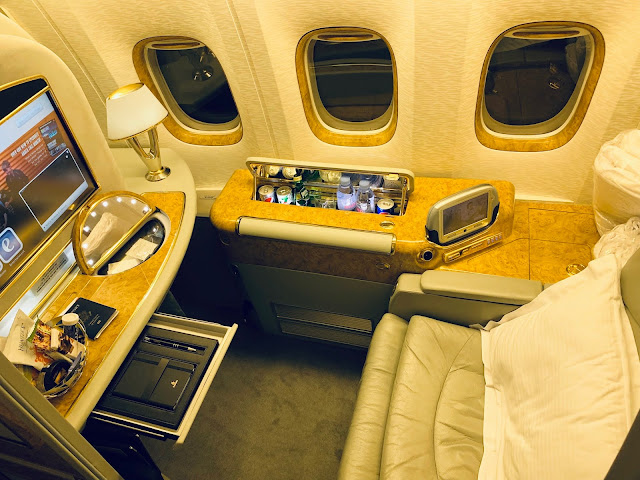 Emirates A380 Vs. Emirates 777 First Class