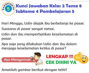 Kunci Jawaban Kelas 2 Tema 8 Subtema 4 Pembelajaran 5 wwww.simplenews.me