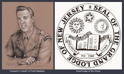 "Leonard G. ""Bud"" Lomell. D-Day. Word War II. Grand Lodge of New Jersey. by Travis Simpkins"