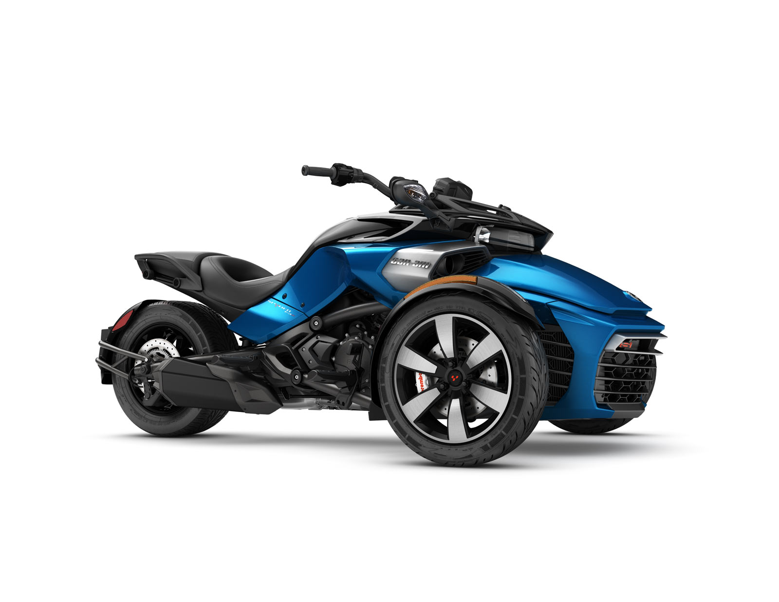 2017 can am spyder f3 s features drift friendly sport mode w video carscoops. Black Bedroom Furniture Sets. Home Design Ideas