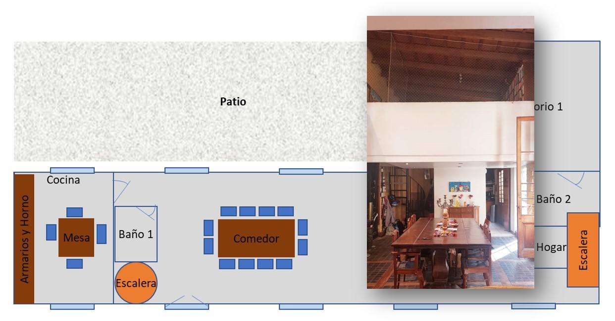 Casa Chorizo Modernizada
