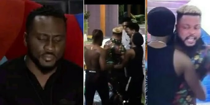 BBNaija S6: Pere Chats With Biggie About Bullying Whitemoney And Others Turning Against Him (VIDEO)