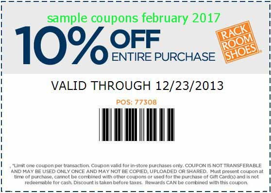 Free Promo Codes and Coupons 2018: Rack Room Shoes Coupons