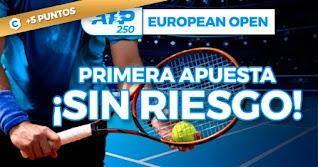 paston Primera apuestas ATP European Open 2020 sin riesgo hasta 25-10-2020