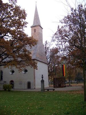 Kirche St. Georg und Katharina im Stadtpark Traunstein neu restauriert