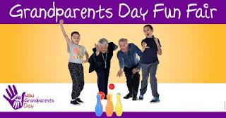 Poster for Grandparents Day Fun Fair 2016