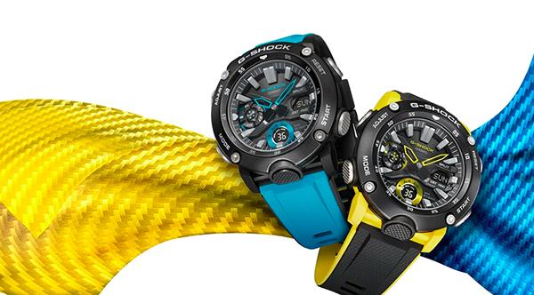 reloj-reforzado-carbono-resistente-hierro-G-Shock
