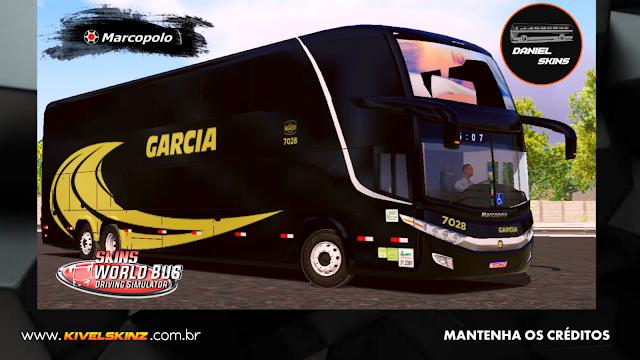 PARADISO G7 1800 DD 6X2 - VIAÇÃO GARCIA BLACK