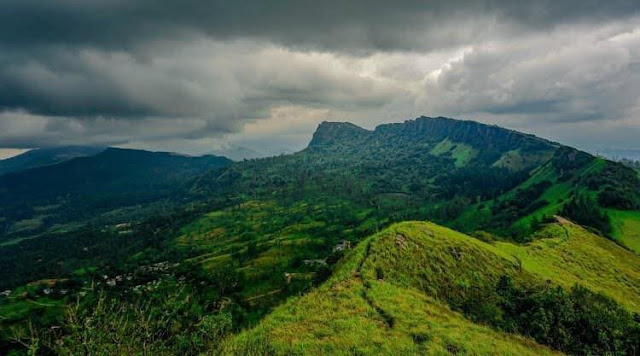 සන්තානා කන්ද- හන්තාන කන්ද වුන හැටි 🍃🌱🌸🍄🌕 (Hanthana Mountain) - Your Choice Way