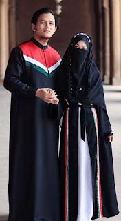 Model hijab cadar couple terbaru tahun ini