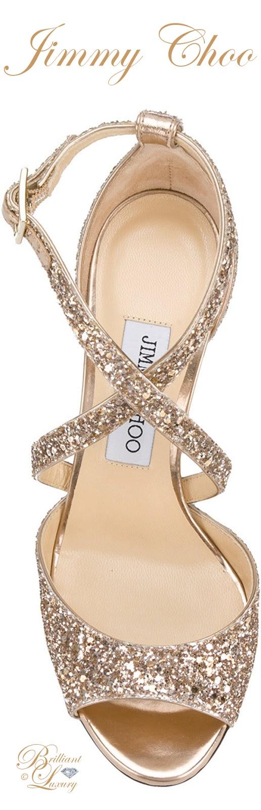 Brilliant Luxury ♦  Jimmy Choo Carrie sandals