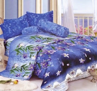 Sprei Kintakun Luxury Swan Love