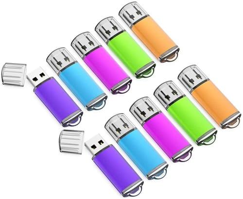 Review KZZ 10 Pack 16GB USB Flash Drive