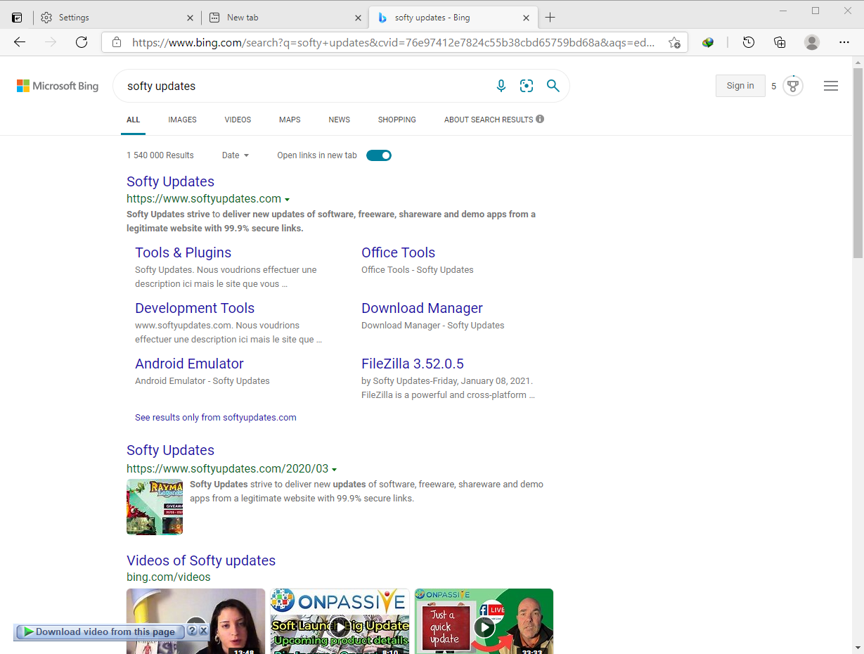 Microsoft Edge 90.0.818.51