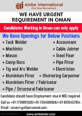 Required in Oman