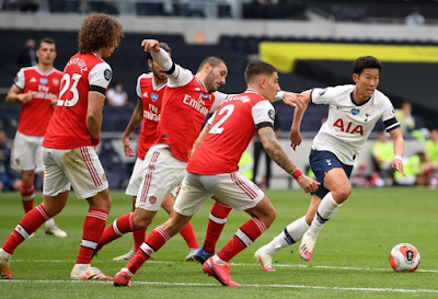 ملخص واهداف مباراة توتنهام وارسنال (2-1) الدوري الانجليزي