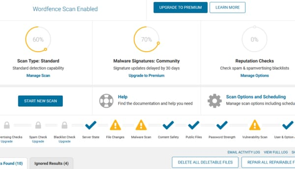 Free WordPress plugin to protect your website from cyberattacks