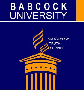 Babcock University Postgraduate Studies Admission Form 2019/2020