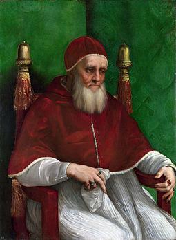 Pope Julius II (1503 to 1513)