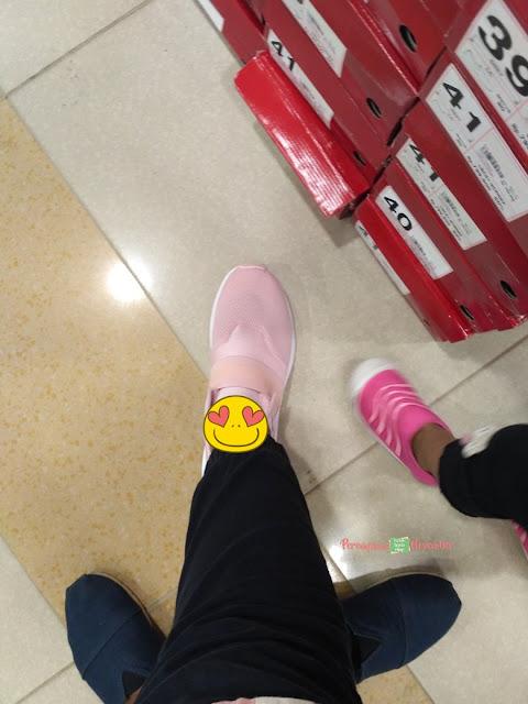 sepatu branded artis