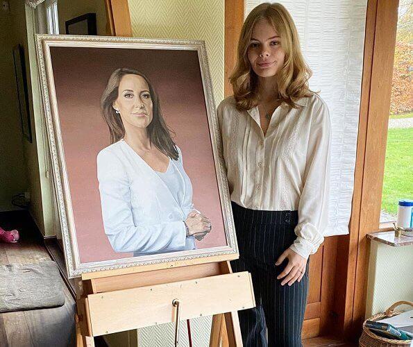 Princess Marie is patron of the Danish Autism Association.  Nina Skov Jensen is an autistic individual