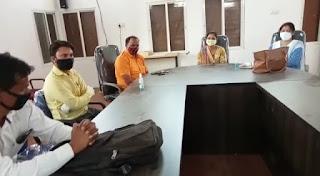 जन अभियान परिषद द्वारा कोरोना वालेंटियर्स की बैठक आयोजित की गई