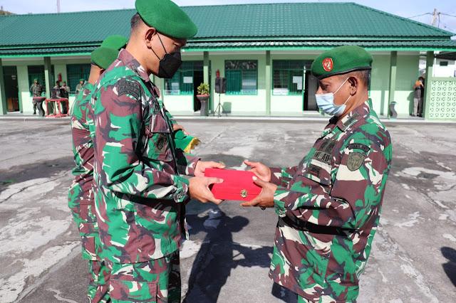 Komandan Kodim 0106 Aceh Tengah Lepas Satu Perwira Terbaik