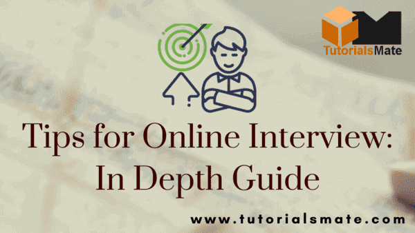 Tips for Online Interview