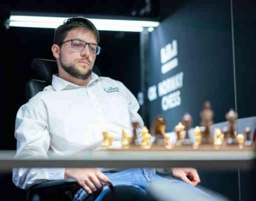Maxime Vachier-Lagrave n°1 mondial en Blitz - Photo © Lennart Ootes