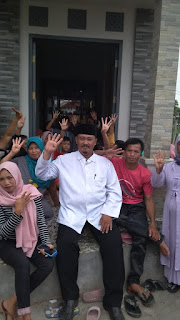 M Andi Firmansyah (UB) Calon Kepala Desa Cidahu Kampanye di Kampung Manglid