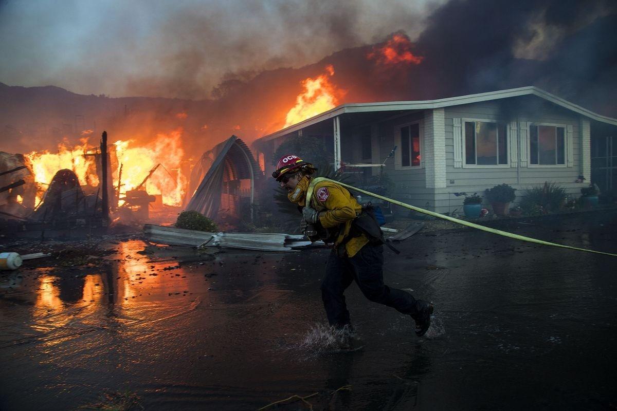 Nghề lính cứu hỏa khá nguy hiểm