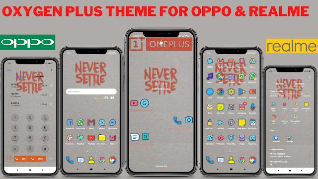 Chủ đề Oxy Plus cho Opp và Realme || chủ đề oppo || chủ đề realme ||