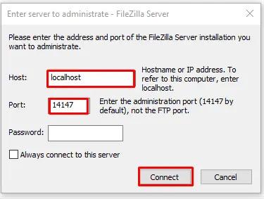 FileZilla Connect Server