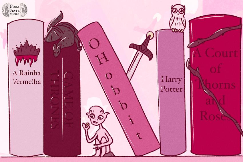 Isso é só para crianças - A desvalorização dos livros de fantasia