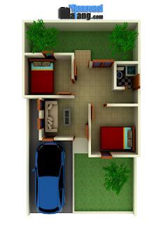Bangun Rumah Murah di Malang tipe 36