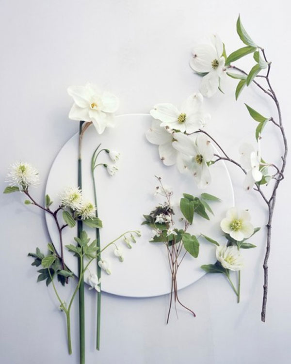 {colour inspiration: ethereal spring whites}