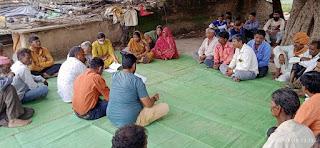 नल जल योजना के लिए जनसहयोग राशि एकत्र करने में महिलाएं आगे आई
