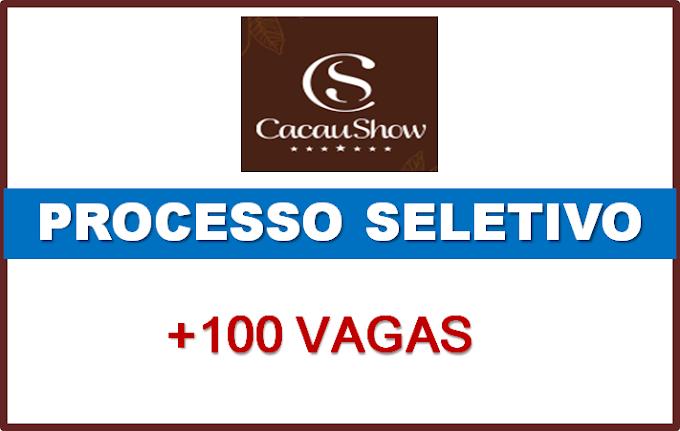 Cacau Show abre mais de 100 Vagas de Emprego para diversos Cargos. Saiba Mais