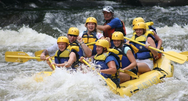 prevent startup employee burnout white water rafting trip team building