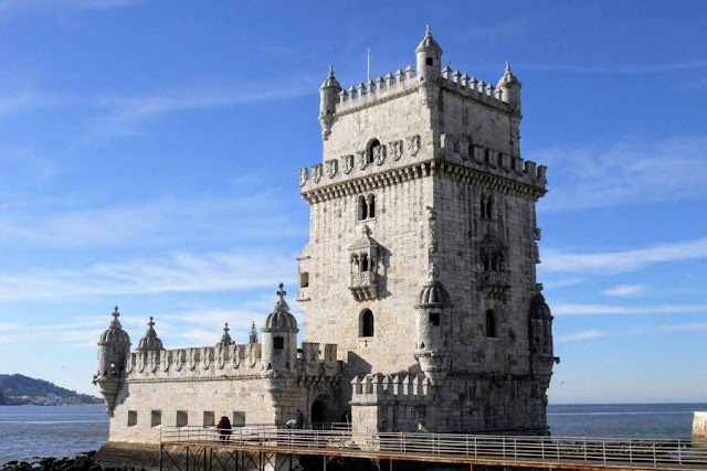 Lisbon in winter: Torre de Belém