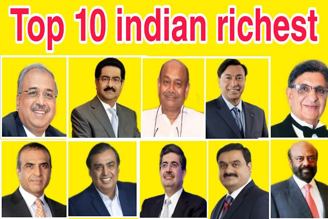 top 10 india's richest