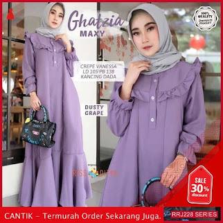 Jual RRJ228D179 Dress Maxy Ghatzia Wanita Sk Terbaru Trendy BMGShop
