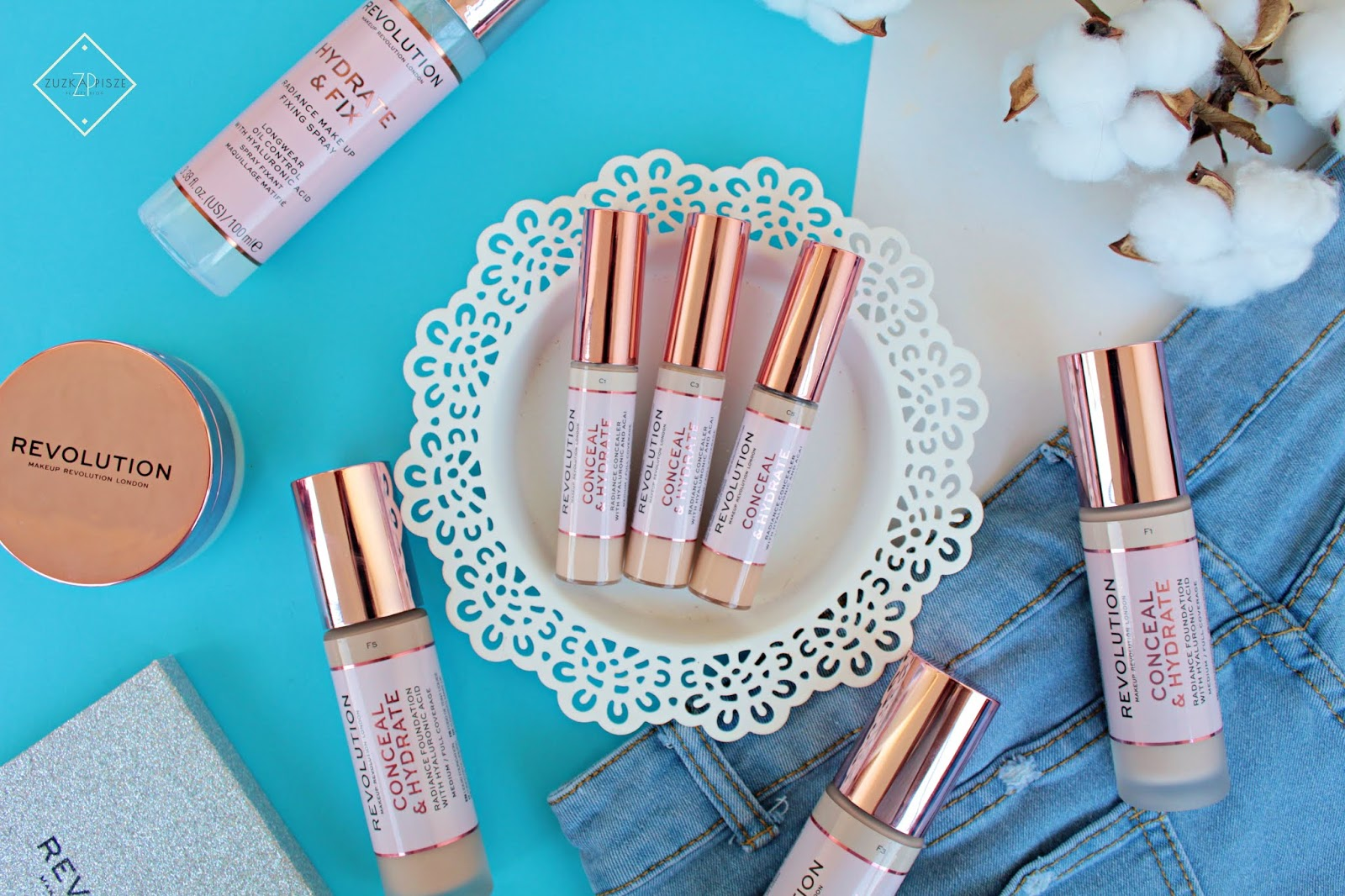 Korektor Makeup Revolution CONCEAL & HYDRATE