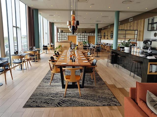 Hotel Hilton Garden Inn-Sala ristorante e colazione