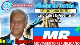 ABELARDO GARCIA * CANDIDATO GOBERNADOR DEL ZULIA *