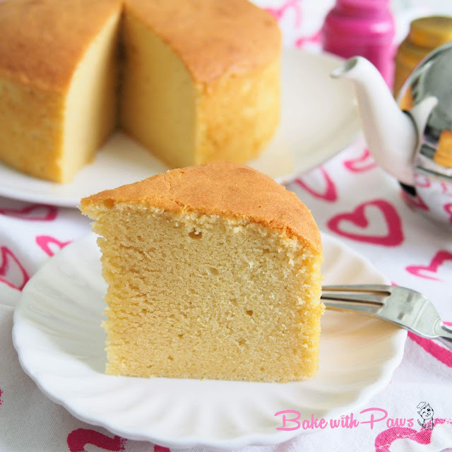 Soft Butter Cake